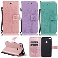 Cat Tree Wallet Leather Flip Case Cover For Huawei P7 8 9 10 Mate 7 8 9 S Y3 II