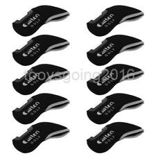 10 Pieces Golf Club Putter Head Cover Iron Headcover Replacement Protect