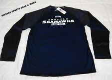 Seattle Seahawks Men's Long Sleeve Team Shirt NFLShop Official Apparel L,XL,2XL