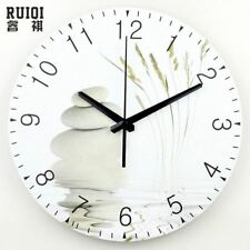 large wall clock modern design silent living room 3d wall decor clock fashion si