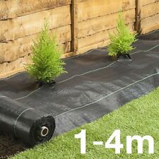 1-4M Ground Cover Fabric landscape garden weed control membrane heavy duty