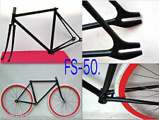 Custom PISTA fixed gear frame & fork columbus & reynolds tubing You can choose1