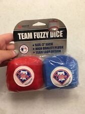 BRAND NEW PHILADELPHIA PHILLIES CAR FUZZY DICE FREE SHIPPING