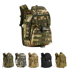 40L Molle Tactical Military Army Assault Backpack Outdoor Camping Hiking Bag