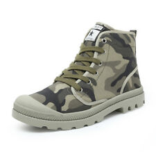 Mens Lace Up Forces Military Combat Leather Army Ankle Boots Tactical Shoes Size