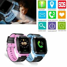Boys Girls Anti-lost Safety LBS Tracker SOS Call Kid Smart Watch For Android IOS