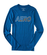 aeropostale mens long sleeve aero graphic t