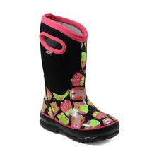 Bogs Kid's Classic Owl Kids' Insulated Boots Black Multi 72153-009
