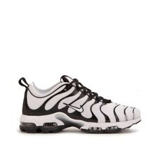 MENS NIKE AIR MAX PLUS TN ULTRA WHITE/BLK RUNNING SHOES MEN'S SELECT YOUR SIZE