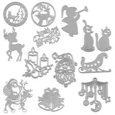 Metal Cutting Dies Embossing Die Scrapbooking DIY Stencil Christmas Card