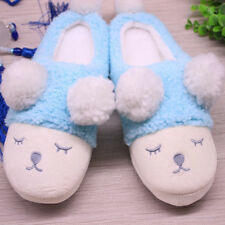 SAGUARO Women Winter Warm Fleece Shoes Cute Soft Indoor Home Slippers 36-41