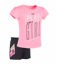 Under Armour Toddler Girl's *Play Like A Girl* Two Piece Set