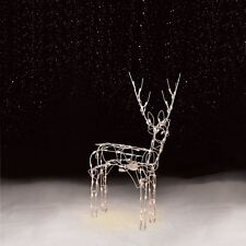 Outdoor Christmas Decorations Animated Standing Deer Light-up Yard Lighted Decor