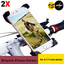 1x 2x Motorcycle Bike Bicycle Handlebar Mount Holder Case For iPhone 7 8 Galaxy