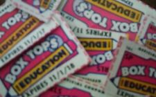 100 BOX TOPS FOR EDUCATION - BTFE - NONE EXPIRED all are 11/2017 dates and later