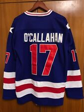 Jack O'Callahan #17 1980 Miracle On Ice USA Hockey Jersey blue All stitched