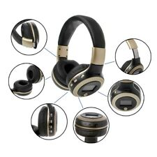 Bluetooth Wireless B19 Foldable Headphone LCD Screen TF MP3 FM Radio With Mic