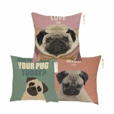 New Square Pillow Cover Contemplative Cushion Cover Pet Dog Polyester Pillow Cas
