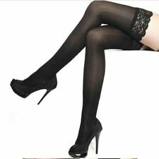 WOMEN'S STOCKINGS Pantyhose Lace Top Stay Up Thigh High Sexy Sheer Quality Panty