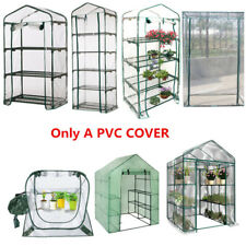 Walk in PVC Cover Apex Garden Greenhouse Tall Green Plant House Shed Storage Hot