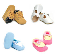 Infant Toddler Baby Boy Girl Soft Sole Crib Shoes Newborn First Shoes 18 Months