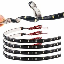 12V 30CM 15-SMD LED Car Motorcycle Truck Waterproof Flexible LED Light Strip Red