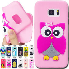 Cute Cover Protective Gel Rubber Soft 3D Silicone Skin TPU Back Case For Samsung