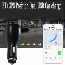 Universal BT+ GPS Positioning Dual USB 3.1A Car Charger Adapter Fast Charging