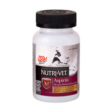 Dog Aspirin Liver flavor chewable tablets Arthritis and joints Pain Relief 75ct