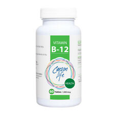 Carson Life vitamin b12 dietary supplement- 100 mcg tablets for red blood cells