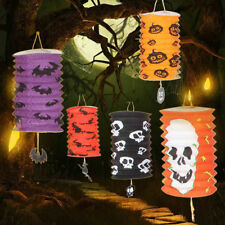 Funny Halloween Scary Fold Paper Lantern Party Yard Halloween Hanging Decoration