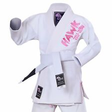 Hawk Brazilian Kids Jiu Jitsu Suit BJJ Gi Kimonos BJJ Uniform FREE BELT Girls