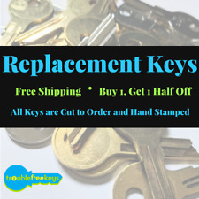 Replacement File Cabinet Key - HON - 160, 160E, 160H, 160N, 160R, 160S, 160T