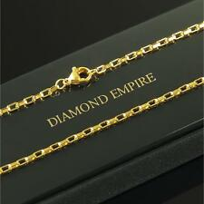Venetian Chain 2 mm 999 24k Gold-plated Unisex Yellow Gold K2882