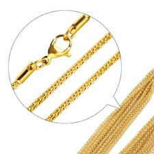 Raspberry Necklace 2 mm 999 24k Gold-plated Unisex Yellow Gold K2869