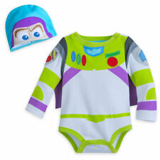 Disney Store Toy Story Buzz Lightyear Baby Costume & Hat 3 6 9 12 18 24 Months