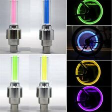 6PCS Bike Light Bicycle Cycling Spoke Wire Tire Tyre Silicone LED Wheel Colorful