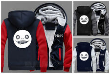 Game NieR:Automata Emil Mask Baseball Jacket Thicken Hoodie Coat Outerwear#ZV23