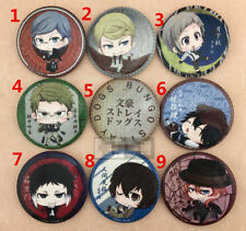"""T510 Hot Anime Bungou Stray Dogs badge Pin button Cosplay 5.8CM(2.3"""")"""