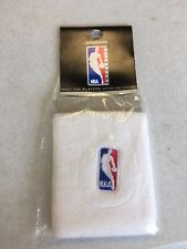 NBA WHITE ARMBAND/WRISTBANDS (2 IN PACK) FREE SHIPPING