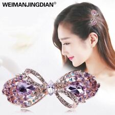 Beautiful Crystal Rhinestones Bow Peacock and Candy Hairclips Barrettes Hairpin