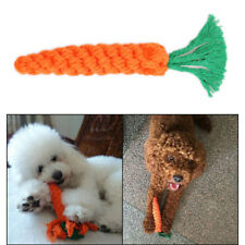 Hot Dog Chew Braided Rope Pet Puppy Cat Molar Teeth Cleaning Bite Training Toys