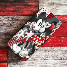 Mickey Minnie Mouse Wallet iPhone Cases Disney Samsung Wallet Leather Phone Case