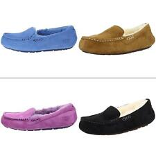 New Shoes UGG Australia Women's Ansley Sheepskin Suede Moccasin Slippers 3312