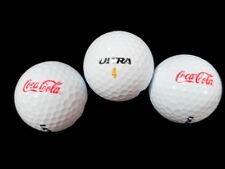 Coca-Cola Wilson Golf Balls Ultra or Eco-Core Package of 3- BRAND NEW