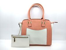 Womens Extra Pocket Handbags Ladies Shoulder Style Bags Large Italian Leather