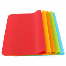 Soft Silicone Pastry Bakeware Baking Tray Oven Rolling Kitchen Mat Sheet Home