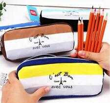 Student Cute Pencil Case Pen Box Pouch Stationery Makeup Cosmetic Bag