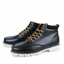 Men Boys Fashion Sneakers Martin Boots Casual Ankle Boots High Top Shoes Lace Up