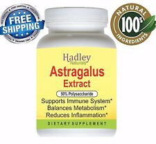 Astralagus Extract Capsules Immune Booster by Hadley Naturals